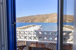 amorgos hotel mike balcony