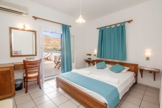 amorgos hotel mike cozy bedroom