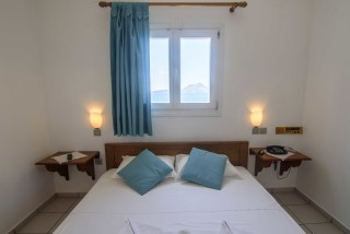 amorgos hotel mike double bed