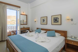 amorgos hotel mike sea view room