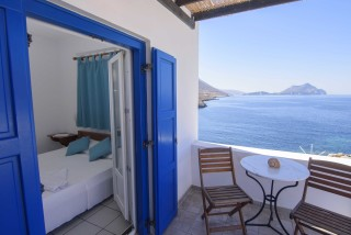 amorgos hotel mike sea view veranda