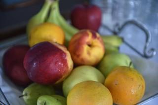 greek breakfast mike hotel fruits
