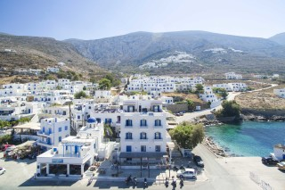 mike hotel in amorgos